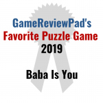 Favorite Puzzle Game of 2019: Baba Is You
